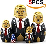 Toys : Donald Trump Gifts - Donald Trump Funny Toy Doll - Trump Nesting Dolls Gag Gifts - Set 5 pc 3.7 inches