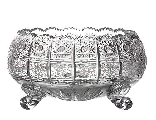 Bowl Republic Fruit (BOHEMIAN CRYSTAL GLASS BOWL-VASE 8