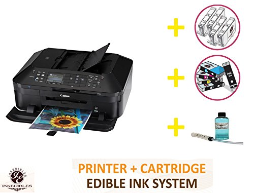 YummyInks Brand DELUXE PACKAGE 2: YummyInks Brand CANON MX922 BUNDLED PRINTING SYSTEM - INCLUDES EXTRAS