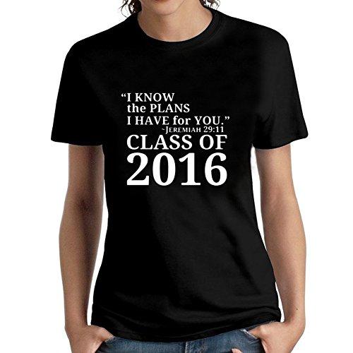 Rockshirts Mens Christian Graduation Gift Jeremiah 29 11 Class 2016 Shirt