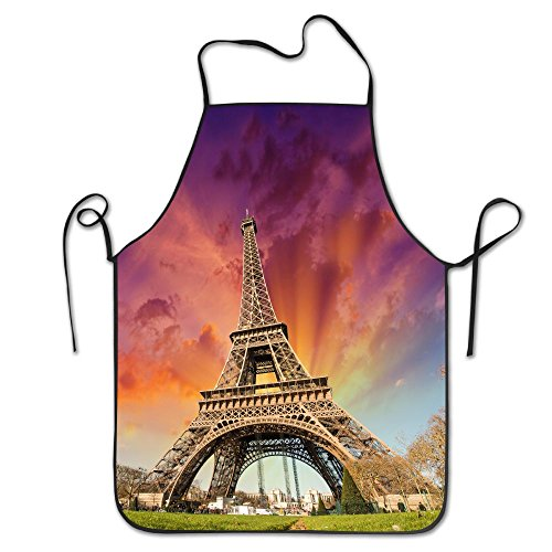 Eiffel-tower-wallpapers Kitchen Cooking Apron For Women And Men - Adjustable Neck Strap - Restaurant Home Kitchen Apron Bib For Cooking, Grill And Baking, Crafting, Gardening, - Sunglasses Uk Promotional