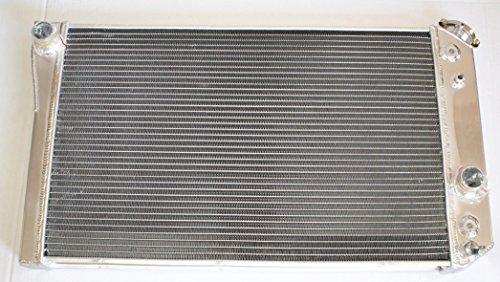 Aluminum Radiator for 3 ROW 84-90 CHEVROLET CORVETTE AT S10 V8 - Conversions S10 V8