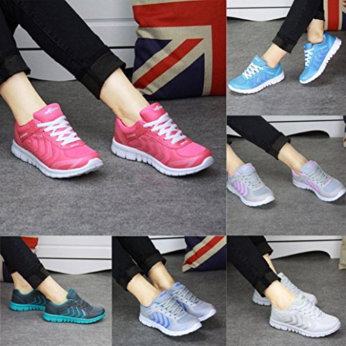 Ginnastica Sneakers Estate Donna Corsa Stringate Sportive Da Eleganti b Beautyjourney Grigio Estive Scarpe Yq5UUp