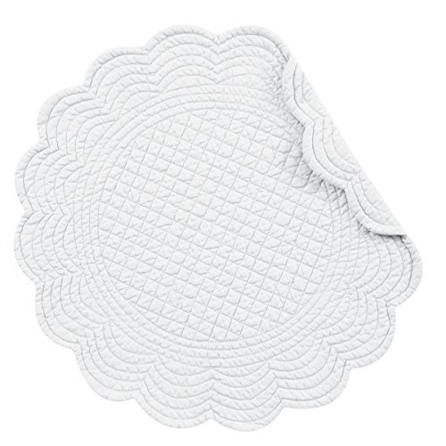 (Set of 4 PCS Quilted,17