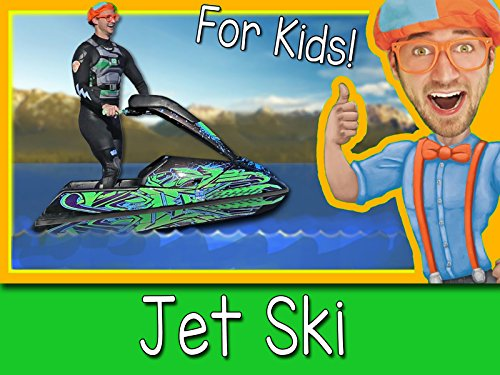 Explore A Jet Ski with Blippi - Boats for