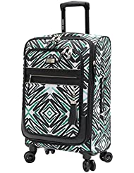 Steve Madden Tribal Luggage Carry On 21 Expandable Suitcase With Spinner Wheels