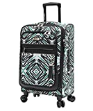 Steve Madden Tribal Luggage Carry On 21'' Expandable Suitcase With Spinner Wheels