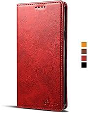 Samsung Galaxy Note 9 Funda Cartera cuero con ranura para tarjetas, cubierta protectora con función soporte