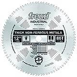Freud LU89M012 12-Inch 86 Tooth TCG Non-Ferrous Metal Cutting Saw Blade with 1-Inch Arbor
