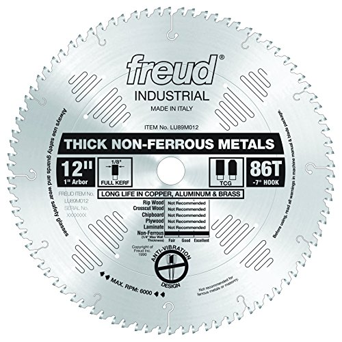 Freud Thick Non Ferrous Metal LU89M012 product image