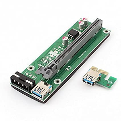 Amazon.com: eDealMax PCI-E portátil 16Pins Risers USB 3.0 DE ...