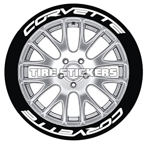 - C7 Corvette Tire Stickers with FleXement Industrial Adhesive- Permanent 1