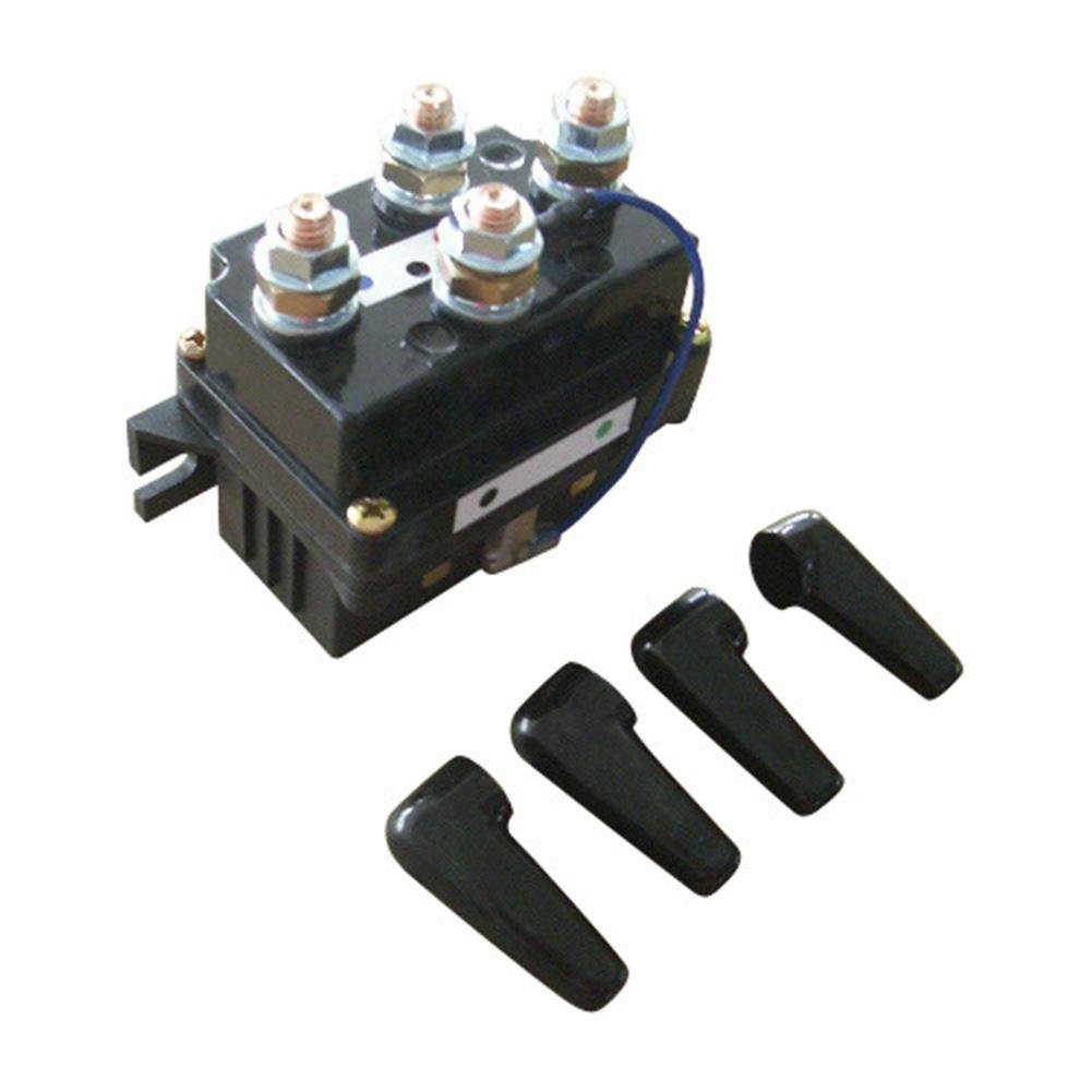Wiring Diagram For 12v 500a Winch Solenoid Contactor Relay For 8000lbs 12000lbs Atv Utv 4wd 4x4
