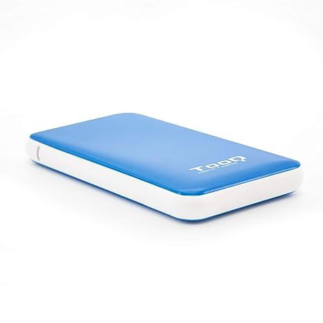 TooQ TQE-2528BL - Carcasa para discos duros HDD de 2.5
