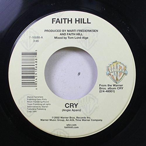 FAITH HILL 45 RPM CRY / WICKED