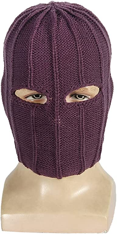 Soldier Baron Zemo Mask Falcon Cosplay Bucky Barnes Helmet Adults Headwear Knitted Winter Full Face Cover Ski Mask