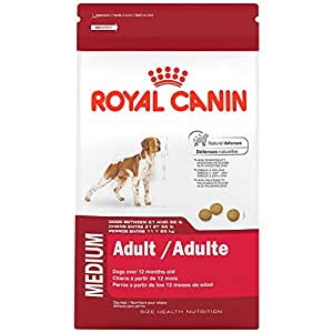 royal canin size health nutrition medium adult dry dog food 30 pound pet supplies. Black Bedroom Furniture Sets. Home Design Ideas