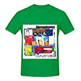 Stereophonics Word Gets Around Electronica Mens O Neck Custom Shirts Green