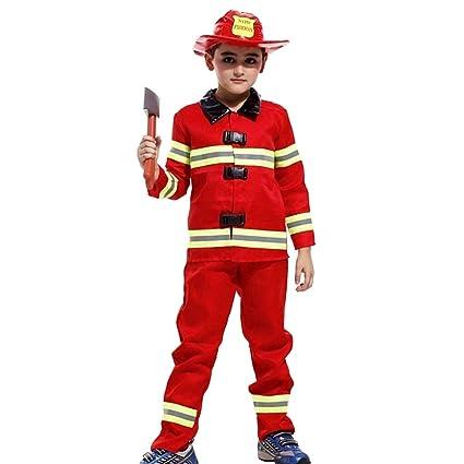 Disfraz de Sam el bombero - Disfraz - Carnaval - Halloween ...