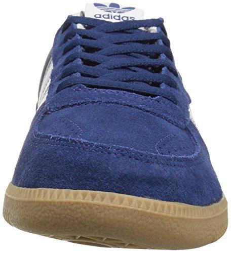 Adidas Originali Mens Leonero Fashion Sneaker Mistero Blu / Bianco