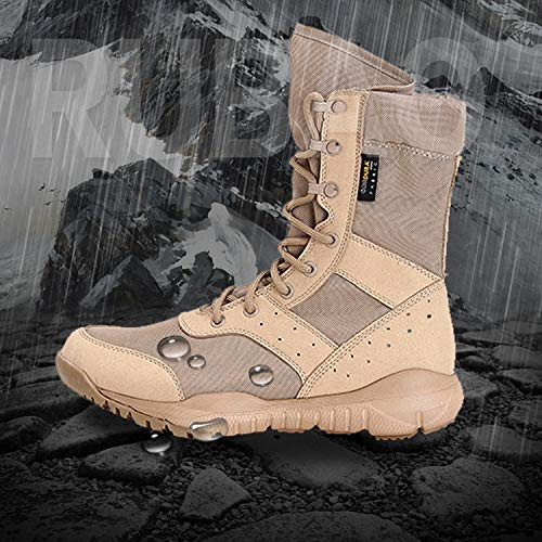 HCBYJ Schuhe High-top Military Stiefel with high-top Military Stiefel Stiefel Stiefel Male Special Forces Jungle Tactical Men's Stiefel 1768b7