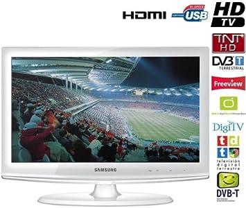 Samsung LE-22C451E2- Televisión, Pantalla 22 pulgadas- Blanco: Amazon.es: Electrónica