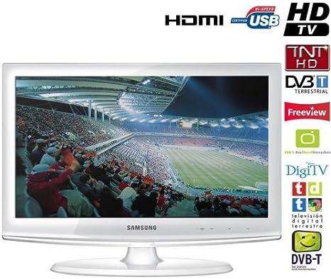 Samsung LE-22C451E2- Televisión, Pantalla 22 pulgadas- Blanco ...
