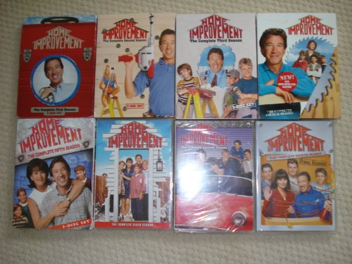 Home Improvement Seasons 1-8 Complete Series by