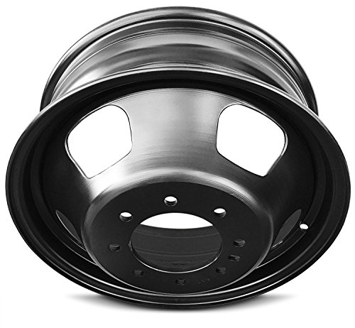 New 17 Inch Dodge Ram 3500 DRW Dually 8 Lug Replacement Wheel Rim 17x6 Inch 8 Lug 121mm Center Bore 136mm Offset by Road Ready Wheels (Image #3)
