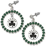 NBA Boston Celtics LogoArt Spirit Earrings