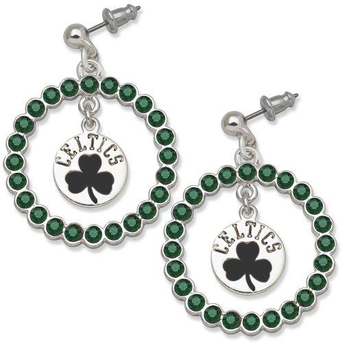NBA Boston Celtics LogoArt Spirit Earrings by LogoArt