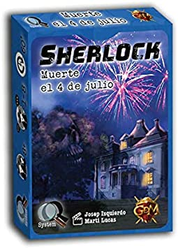 GM Games Sherlock: Muerte el 4 de Julio (GDM Games GDM125)