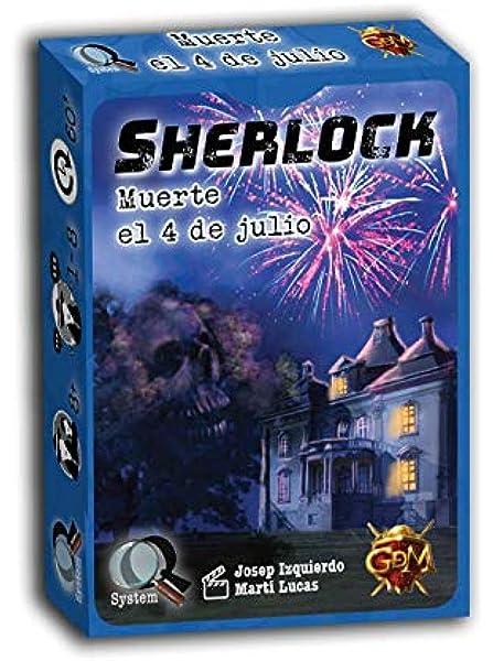 GM Games Sherlock: Muerte el 4 de Julio (GDM Games GDM125): Amazon.es: Juguetes y juegos
