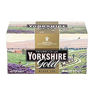 Taylors of Harrogate Yorkshire Gold, 40 Teabags, 4 Pack