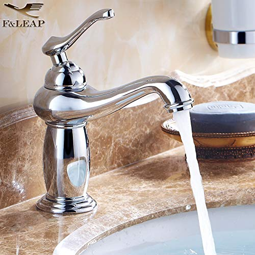 2 LHbox Basin Mixer Tap Bathroom Sink Faucet Continental hot and cold water taps gold pink gold bluee-tiled table top antique basin faucet, classic God Light Fittings