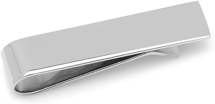 Alfiler Skinny Pasador de Corbata - Pisacorbatas , Color Plateado para Corbata Skinny, 3.5 cm Marca Puentes Denver: Amazon.es: Joyería