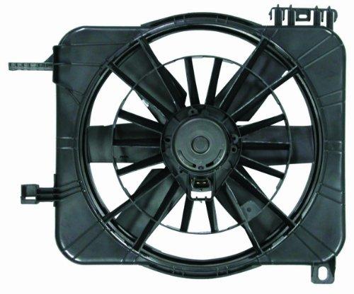 Depo 335-55002-000 Dual Fan (Cavalier Radiator Fan Shroud Assembly)