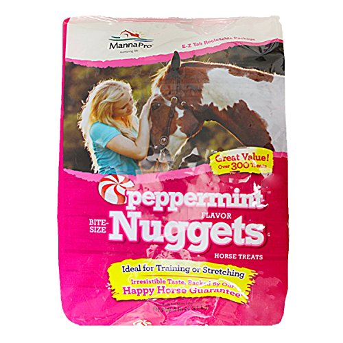 Peppermint Nuggets (Manna Pro Peppermint Bite Size Nuggets, 4 Lb)