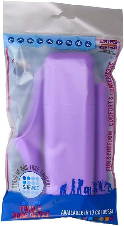 SHEWEE Extreme Dispositivo urinario femenino naranja de la calabaza para orinar de pie