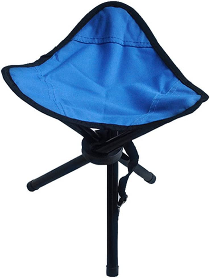 Dannyrober Tripod Stool Hiking Folding Chair with Shoulder Strap