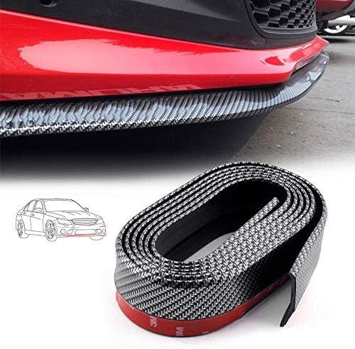 Spoiler anteriore anteriore per paraurti 2x 200 millimetri regolabile anteriore del respingente posteriore Lip Splitter asta di sostegno barre portatutto Spoiler del paraurti universale dellautomobil