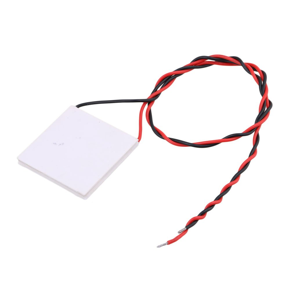 CNBTR 40mm x40mm White TEC1-19906 Semiconductor DC24V 6A Tablet Cooling Chip Peltier