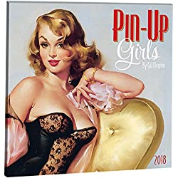 Orange Circle Studio 2018 Album Wall Calendar, Pin-Up Girls