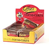 Effie's Cocoacakes, All-Natural Homemade Lightly Sweetened Gourmet Biscuits Single Serve Tray (of 24 packages). For Real Food Lovers Craving Homemade Taste.