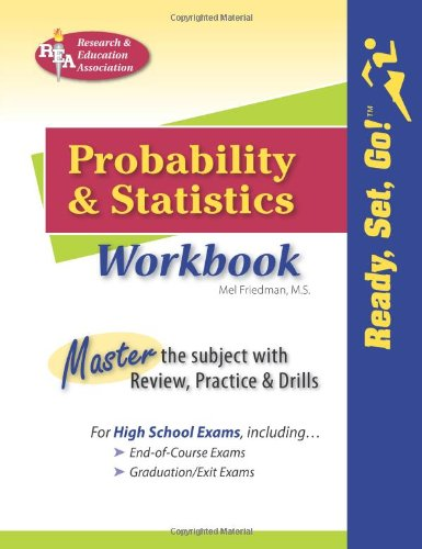 Probability and Statistics Workbook (Mathematics Learning and Practice)