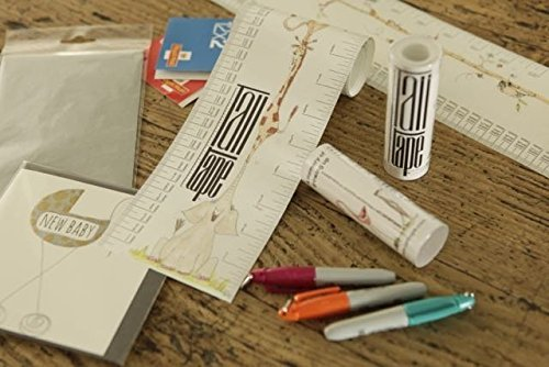 London Roll-up Height Chart FREE Sharpie Marker Pen To Measure Children From Birth Choice of 10 Designs Portable a Memento For Life TALLTAPE