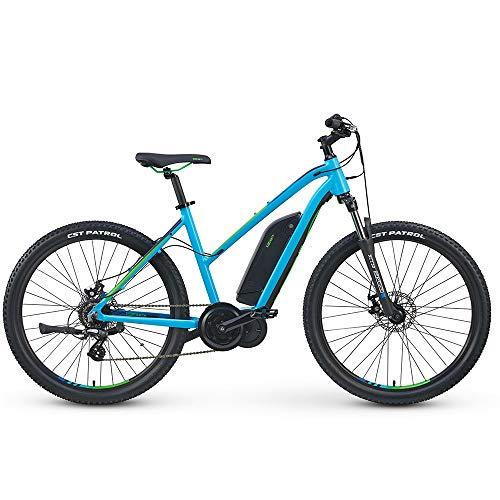 Izip Electric Bikes - IZIP 2019 E3 Edge Step Thru Electric Bike MD Blue