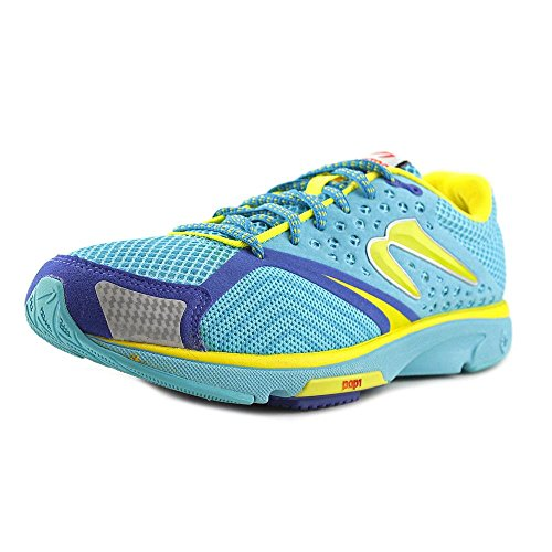 newton-running-womens-distance-s-iii-blue-yellow-running-shoe-75-women-us
