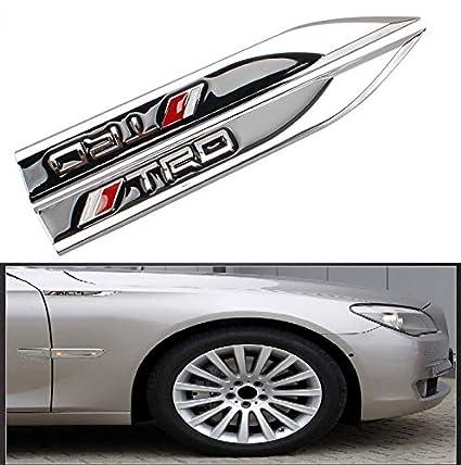 1Pair Car Auto Sticker Emblem Badge Decal Accessories for Maserati Ghibli Sport