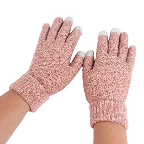 Loneflash Gloves, Fashion Women Keep Warm Warm Winter Full Finger Mittens Gloves ()
